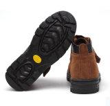 Caviglia-Alti pattini di sicurezza del cuoio della mucca per uso industriale