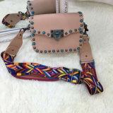 Borse di cuoio di modo della signora Handbag 2018 della borsa della signora di sacchetto dell'unità di elaborazione piccole spalla (WDL0461)