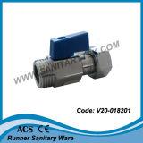 느슨한 견과 (V20-018201)를 가진 소형 공 벨브