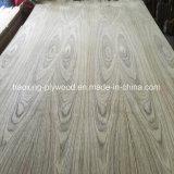 1220*2440mm de núcleo de madera de contrachapado de madera de teca natural