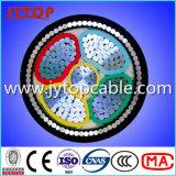 알루미늄 PVC 케이블, Swa는 철강선 기갑 케이블에 케이블을 단다