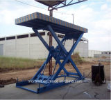 Voiture de type ciseaux hydraulique verticale plate-forme élévatrice
