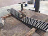 FRP antirresbaladizo moldeado/pisada de escalera de Pultruded con las cubiertas
