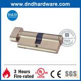 Sicheres Messingbadezimmer-Zylinderschloß für Europa (DDML007)