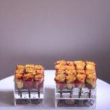 아크릴 꽃 상자 또는 둥근 꽃 상자 또는 꽃 상자 사치품
