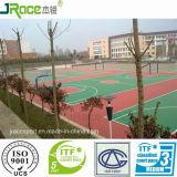 Materiaal van de Bevloering van het Hof van het Basketbal van het Ce- Certificaat het Openlucht