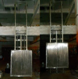 Tableau de travail Elevated populaire de Hydraulice de longeron de guide pour la cargaison d'entrepôt