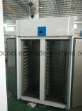 Bäckerei-Kühlraum-vertikale Edelstahl-Kühlraum-Gefriermaschine mit Embraco Kompressor