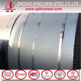 Do Chequer laminado a alta temperatura do aço suave de St37 A36 S235jr placa de aço