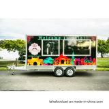 Rua de boa qualidade Hamburger Trailer alimentar