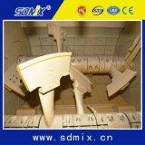 mélangeur concret d'utilisation d'élément de la colle 1500L d'arbre industriel de jumeau