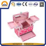 Алюминиевая коробка Rose с подносами для повелительниц (HB-2219)