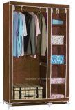 De moderne Eenvoudige Stof die van het Huishouden van de Garderobe de Eenvoudige Garderobe van de Combinatie van de Versterking van de Grootte van de Koning van de Assemblage van de Opslag van de Afdeling van de Doek (fw-43A) vouwt