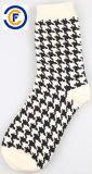 Chaussettes unisexes personnalisées de mode d'Elastane de polyester de coton