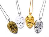 Zilveren Ketting V van de Diamant van Hip Hop van de Juwelen van de manier 18K 24K Gouden voor de Juwelen van de Halsband van de Vete voor Mensen