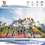 O Parque de Diversões Wandeplay crianças parque ao ar livre com equipamentos Wd-Dz028