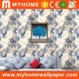 Hauptwand-Papier der dekoration Belüftung-Blumen-3D