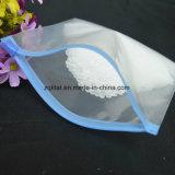 Sacchetto di plastica trasparente del grado del LDPE buon con la serratura della chiusura lampo
