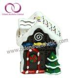 Jogo do presente da vela da arte da vela da casa da neve das velas do Natal
