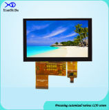 4.3 Bildschirmanzeige des Zoll-TFT LCD mit kapazitivem Fingerspitzentablett