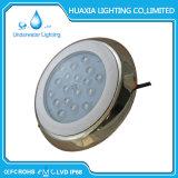 316 luces subacuáticas inoxidables de la piscina del poder más elevado LED del acero