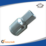 Manguera hidráulica de acero de una pieza de accesorios de tubería Parker