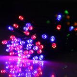 indicatore luminoso leggiadramente alimentato solare della stringa di 50m 500LEDs/String LED per la decorazione di festa