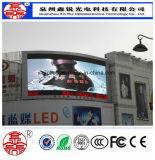 광고를 위한 고품질 P10 옥외 풀 컬러 발광 다이오드 표시 위원회