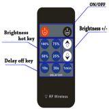 Interruttore del regolatore della luminosità di tasti LED di rf 11