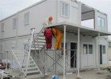 Edifício de engenharia pré projetada para dormitório, escritório do local, trabalho de acampamento