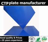 Plaque en aluminium L'encre UV ont résisté à la plaque CTP
