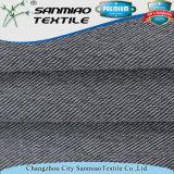 El hilado teñió el Spandex del algodón de la tela cruzada que hacía punto la tela hecha punto del dril de algodón para los pantalones vaqueros