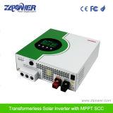高周波純粋な正弦波インバーター組み込みMPPT太陽コントローラ3kVA