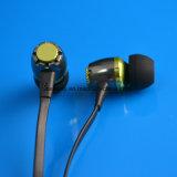 Le câble plat d'écouteur sain magique de dans-Oreille folâtre l'écouteur en métal de mode