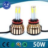 Prezzo competitivo di RoHS di vendita della fabbrica del Ce caldo di Origion e 4side PANNOCCHIA H1 H7 H4 per l'indicatore luminoso di azionamento dell'automobile LED