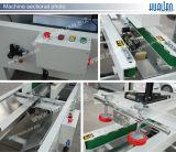 Hualian 2017 máquinas de dobramento da aleta Semi automática da caixa (DZF-5050A)