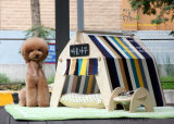 Huis van de Hond van de Tenten van het Huisdier van het Hout van de Pijnboom van de kwaliteit het Openlucht met Kussen