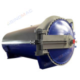 de Stoom die van 2000X6000mm de RubberAutoclaaf verwarmen van Vulcanizating van Rollen (Sn-LHGR20)
