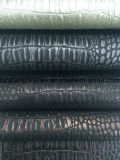 PU 부대 (DS-B801)를 위한 가죽 대중적인 뱀 패턴