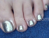 Pigmento material del arte del uña del dedo del pie de la belleza del clavo