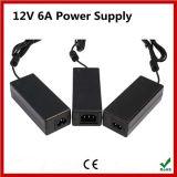 고품질 12V 6A 교류 전원 공급