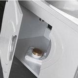 Europäische Badezimmer-Eitelkeits-Möbel-gesundheitliche Waren mit seitlichem Schrank