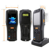 인쇄 기계, Barcode 스캐너, RFID 독자 (PDA3505)를 가진 인조 인간 소형 단말기