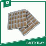 Soem-Wholesale weiße gewölbte Scheibe-Tellersegmente mit Teilern