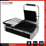 Chinzao専門のManufactrer商業二重ヘッドPaniniのグリルトースター