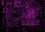 電子工学PCBのボードエポキシ樹脂とのによる6つの層