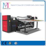 A impressora plana UV com Konica 1024-14pl do cabeçote de impressão para alta resolução de 1440dpi