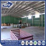Fábrica que construye el almacén industrial de la estructura de acero de la vertiente para la venta