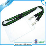 Acollador del portatarjetas de la identificación de la alta calidad con insignia de encargo
