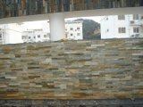 Mehrfarbenschiefer-Stein-Panel für Wand-Umhüllung